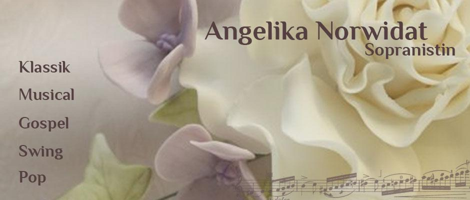 Angelika Norwidat - Sängerin - Klassik Musical Gospel Swing Pop